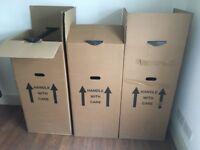 3 large garment boxes