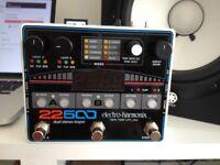 Electro Harmonix 22500 dual stereo Loop pedal