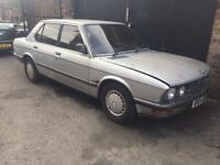 Bmw e28 518i m10 breaking complete car.