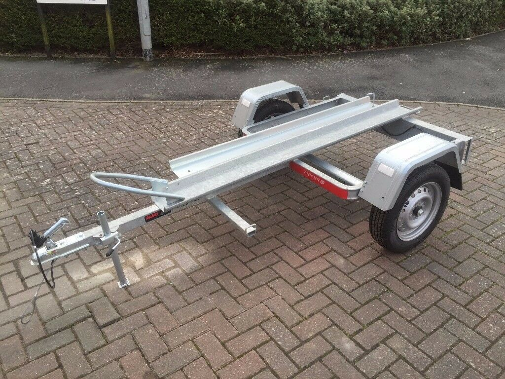 Brand new Tema Moto 1 Motorbike Trailer with Ramp 750kg
