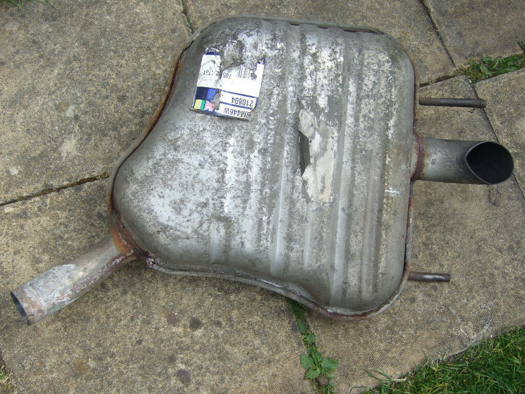 back exhaust for vectra c 1.8 petrol