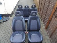 Mercedes W168 A class Half Leather Seats
