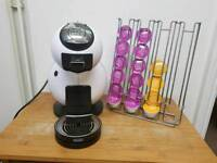 Dolce Gusto Coffee Machine with Stand & Pods