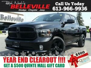 2016 Ram 1500 Blacktop Crew CAB - $99 Weekly!ONE Owner - Back UP