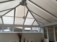 Conservatory 6.5m x 4m (only 6 years old)