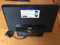 Sony Radio and IPod/iPhone speaker
