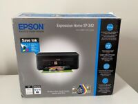 Excellent Condition Epson Expression Home XP-342 Wi-Fi Printer, Scan & Copy