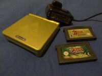 Zelda limited edition Nintendo GBA-sp & minish cap & link to the past / PAYPAL / SECURE POSTAGE.