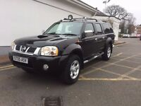 NISSAN NAVARA D22 OUTLAW 4X4 WITH REMANUFACTURED ENGINE 3MONTHS ENGINE WARRANTY AND 12 MONTHS MOT