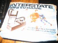 interstate mini t.v. game