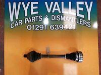 Mk5 vw golf nsf drive shaft stripped from 1.9tdi