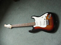 Conrad stratocaster guitar