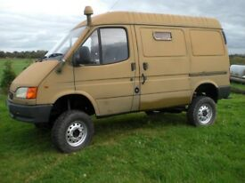 Ford Transit 4x4 county Van Mk5 2.5 Di Swb not Land Rover