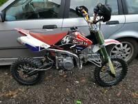 140cc lifan pit bike