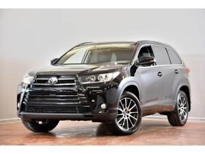 2017 Toyota Highlander SE AWD CUIR TOIT NAV CAM