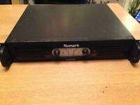numark dimension 3 1300 watt power amplifier stereo