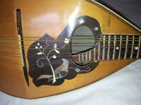 Round backed mandolin