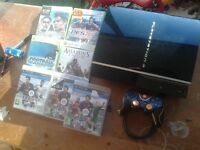 XBOX AND SONY PLAYSTATION 3 PS3 STUFF GAMES.CONTROLLER,CABLE, WORKING CONSOLE WITH FAULTY DVD READER