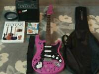 Electric guitar and accessories for sale