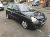 Renault clio 1.5 dci dynamique 2003(03) 119k mot may 2018 tax £20 per year #bargain#