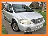 Chrysler Grand Voyager 3.3 Limited 5dr HPI CLEAR,LONG MOT