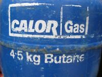 Calorgas Butane Bottle 4.5KG Full