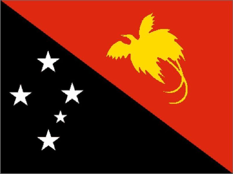 OUTBOUND Flag Of Papua New Guinea 5x3