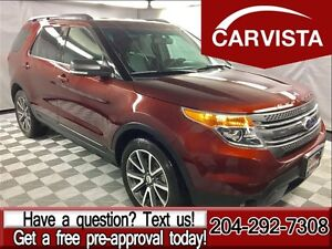 2015 Ford Explorer XLT 4WD -SPORT LEATHER/LOCAL/NO ACCIDENTS-