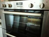 Neght double oven.
