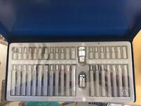 Draper 40 piece TX STAR, hex tool bit set