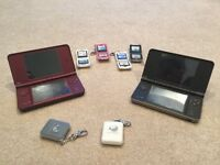 2 NINTENDO DSi XL WITH GAMES