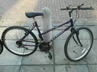 Cheap mechanically sound ladies bike.
