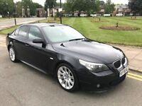 56 PLATE BMW 530D M SPORT AUTO BLACK S/HISTORY E60 NOT 318D 320D 325D 330D 520D 525D 535D 730D X3 X5