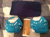 Reusable washable nappies kits Never been used