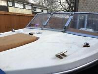 17ft glastron speedboat
