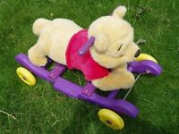 winnie the pooh rocker/ ride on