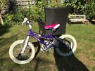 "Probike Glitter 16"" child's bike in excellent condition"