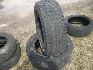 Two 265-60-18 tires $ 120.00