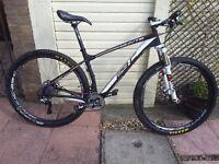 Whyte 29-C TEAM Cross Country/Race Carbon Frame & Wheel Mountain Bike