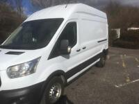 2015 New shape Ford Transit 2.2 Diesel LWB High roof . ////////. NO VAT. //////////