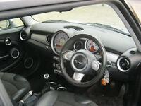 2007 mini cooper, manual, 1 owner, 12 mot, silver, 88k f/s/h, hpi clear 100%