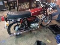 collectable yb 100 deluxe motorcycle two stroke