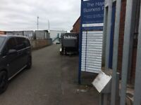 sandwich van plot good location existing business £50 per week