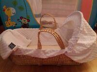 Clair De Luna Moses Basket