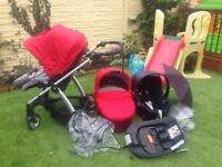 Complete Travel system with Isofix Base. Mamas & Papas Sola 2 Special Edition **REDUCED TO £125