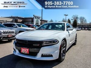 2017 Dodge Charger R/T, SUNROOF, BACKUP CAM, REMOTE START, HTD S