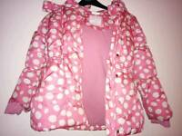 Girls jacket 8-9 years