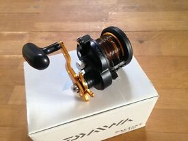 Daiwa Saltist BG 35H - never used, still in box, loaded with mono