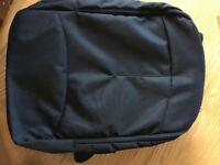 Laptop Backpack in black in as-new condition