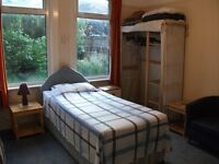 Lovely med-large single room, suit female, low deposit, £95pw, incl ALL bills
